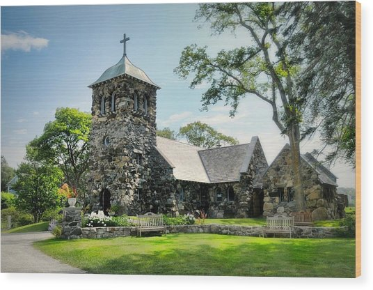 St. Ann's Episcopal Church Wood Print