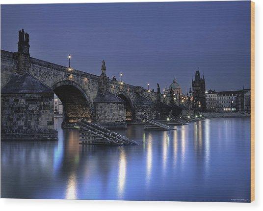St Charles Bridge Wood Print