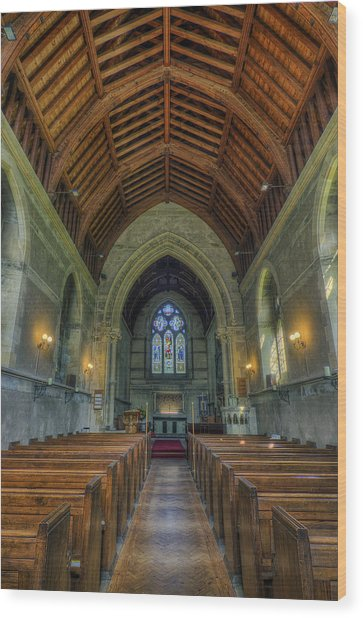 St John The Evangelist Wood Print