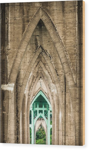 St. Johns Arches Wood Print