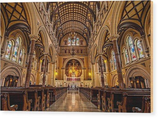 St. Joseph Church Wood Print