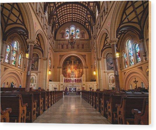St. Joseph Church - New Orleans Wood Print