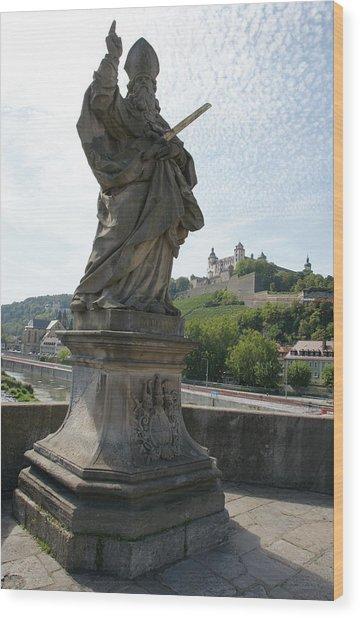 St. Kilian Wood Print