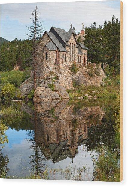 St. Malo Wood Print