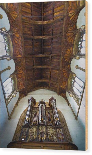 St Michael's Church Framlingham Wood Print