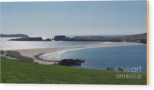 St Ninian's Isle Shetland Wood Print