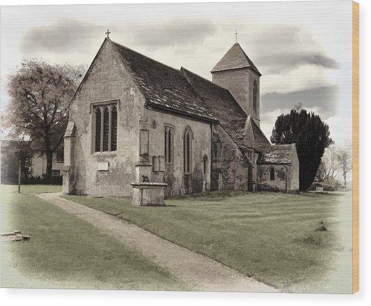 St Peters Church 1 Wood Print