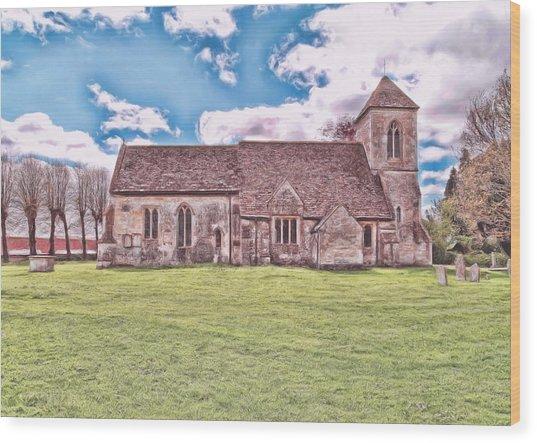 St Peters Church 3 Wood Print