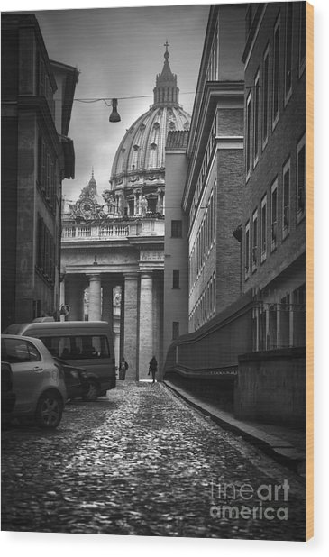 St Peters Vatican City Wood Print