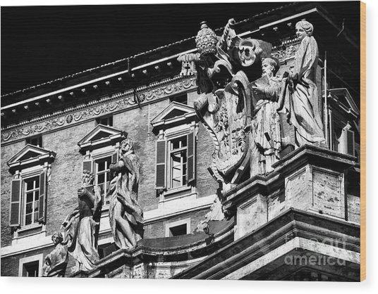 St. Peters Watchers Wood Print by John Rizzuto