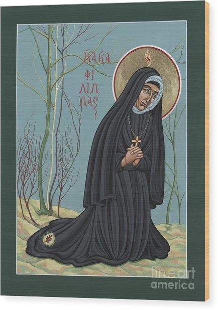 St. Philippine Duchesne 259 Wood Print