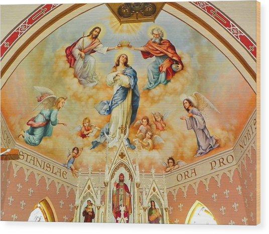 St. Stanislaus Church Wood Print