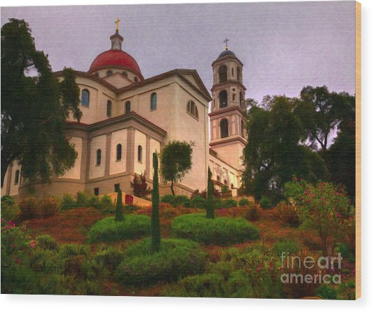 St. Thomas Aquinas Church Large Canvas Art, Canvas Print, Large Art, Large Wall Decor, Home Decor Wood Print