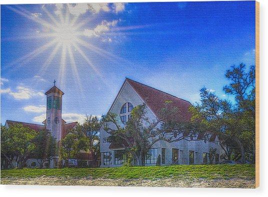 St Thomas Catholic Church Wood Print