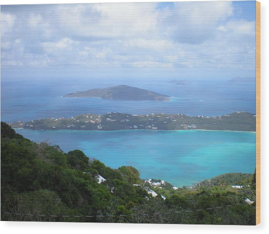 St-thomas Virgin Islands Usa Wood Print