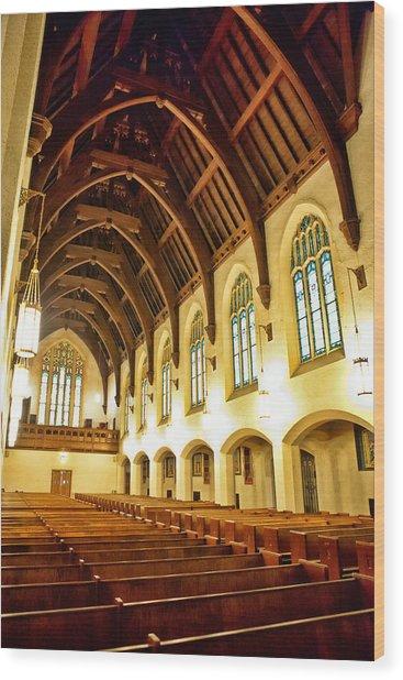 St. Vincent De Paul Church Wood Print