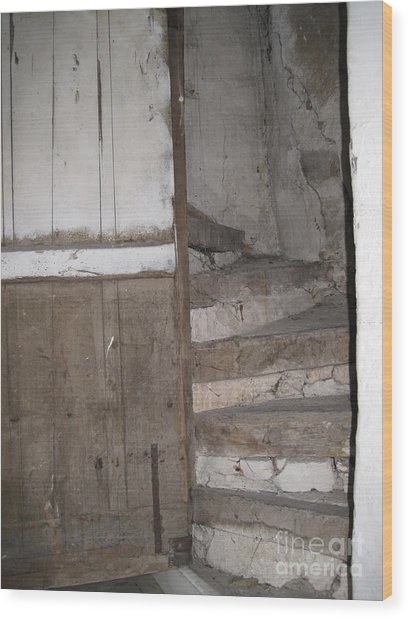 Staircase Wood Print