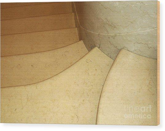 Stairs 3 Wood Print