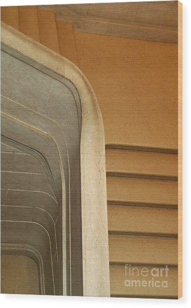 Stairs 9 Wood Print
