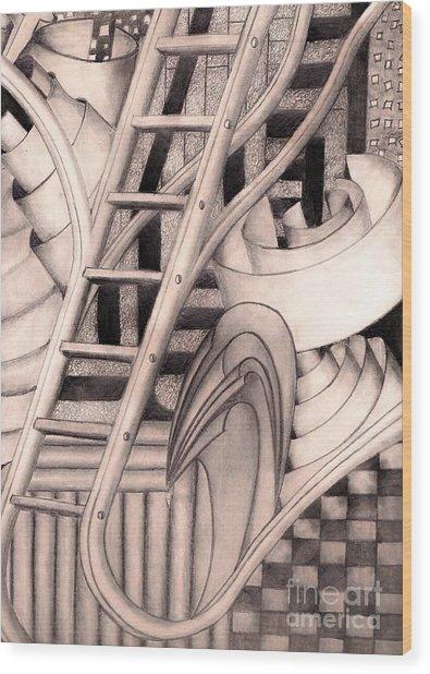Stairway To.... Wood Print