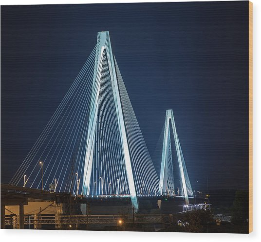 Stan Musial Veterans' Memorial Bridge Wood Print