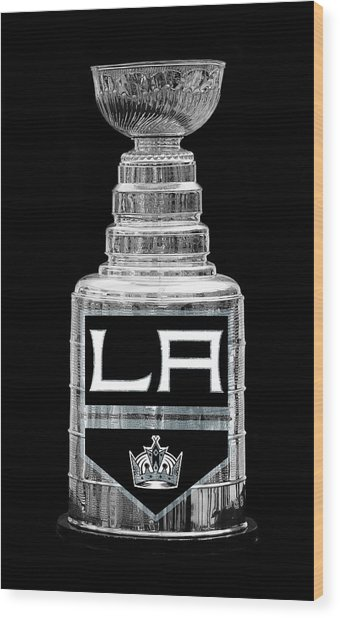 Stanley Cup Los Angeles Wood Print