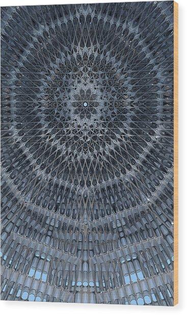 Star Dome Wood Print