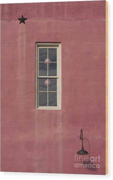 Star-light Window Wood Print