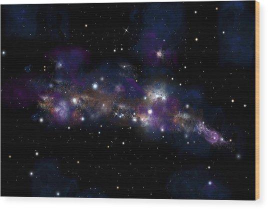 Starfield No.122712 Wood Print