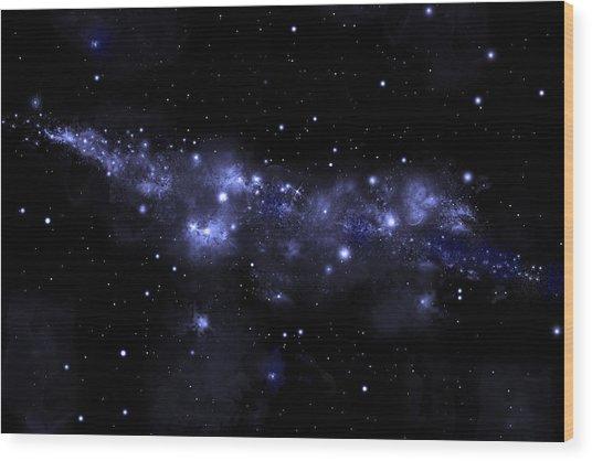 Starfield No.51713 Wood Print