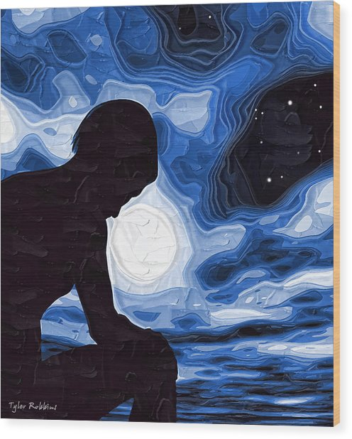 Paint Colors For Depression: Starry Night Depression Painting By Tyler Robbins