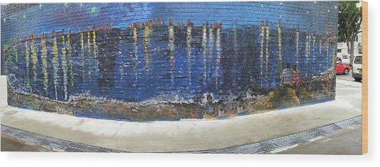 Starry Night Over Macpherson Wood Print