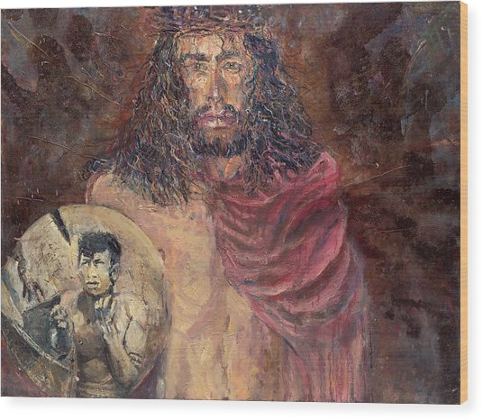 Station I Jesus Is Condemned To Death Wood Print