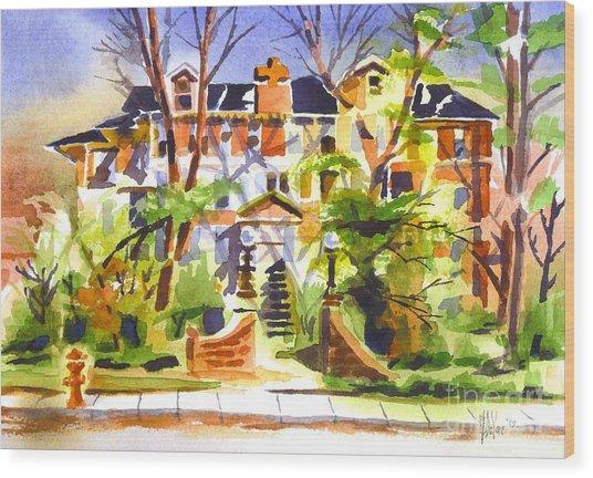 Ste Marys Of The Ozarks Hospital Wood Print