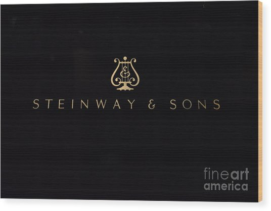 Steinway And Sons Wood Print