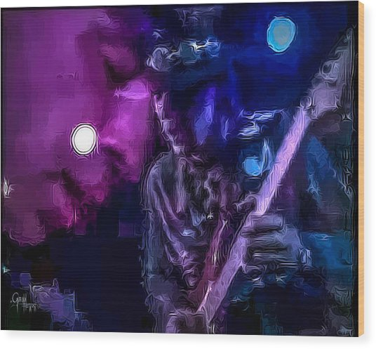 Stevie Ray Vaughan - Lenny  Wood Print