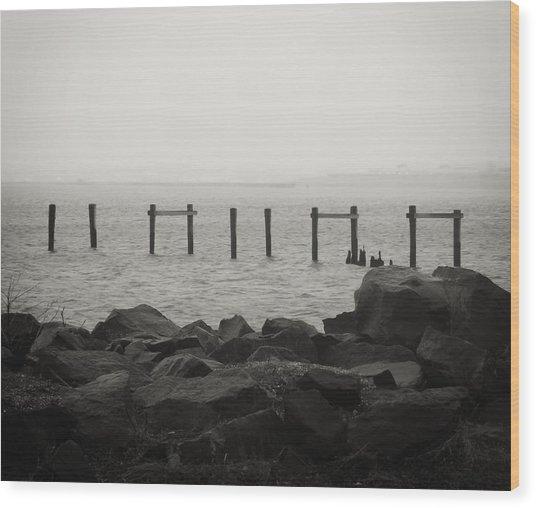 Serenity Wood Print by Richie Stewart