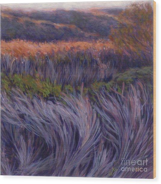 Stiff Breeze Wood Print