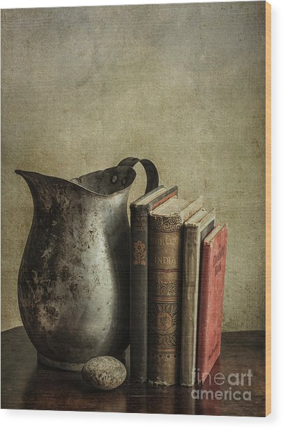 Still Life With Pitcher Wood Print