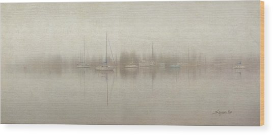 Stillness Wood Print
