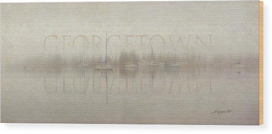 Stillness Georgetown Version Wood Print