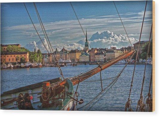 Stockholm Wood Print