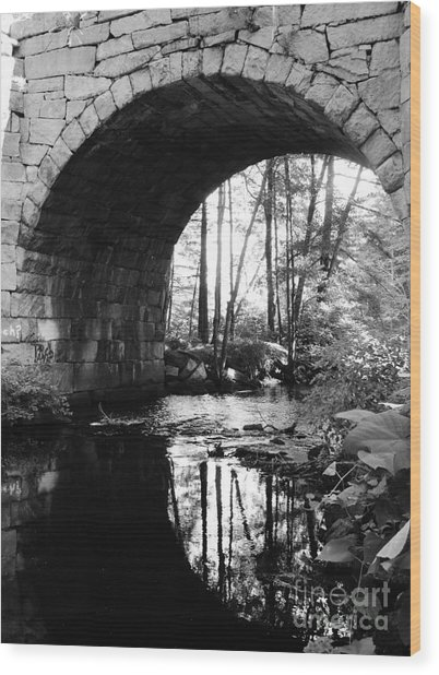 Stone Arch Bridge 2 Wood Print