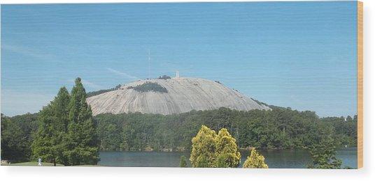 Stone Mountain I Wood Print