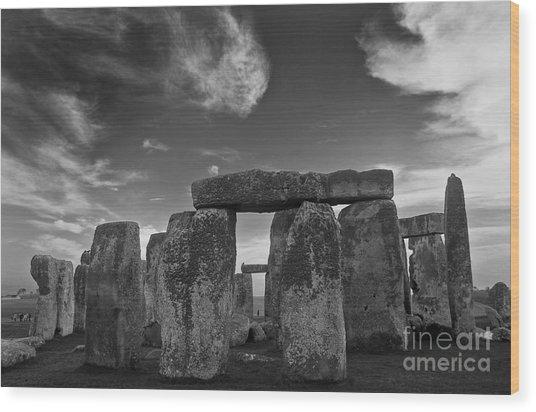 Stonehenge Historic Monument Wood Print