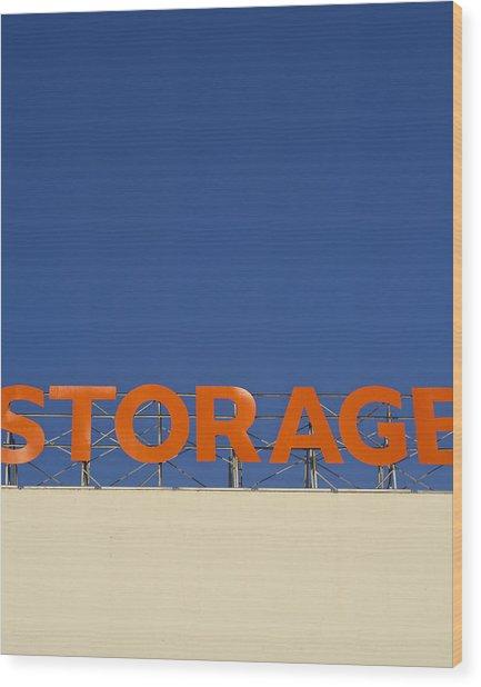 Storage Wood Print