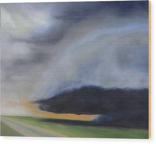 Storm Coming.. Wood Print