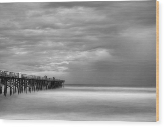 Storm Wood Print by David Mcchesney