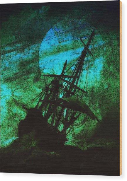 Stormrider Wood Print