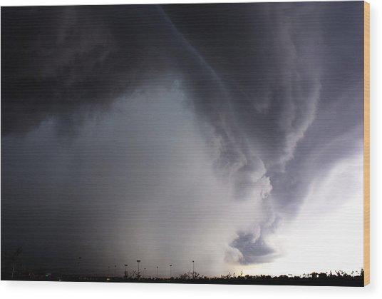Storms Fury Award Winner Wood Print